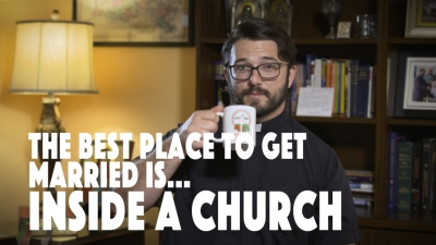 The Best Place to Get Married is Inside a Church